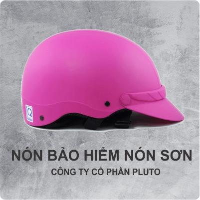 Nón bảo hiểm quảng cao - Nón sơn - Pluto