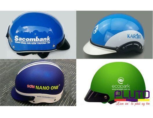 In logo nón bảo hiểm – việc làm cần thiết của mỗi doanh nghiêp