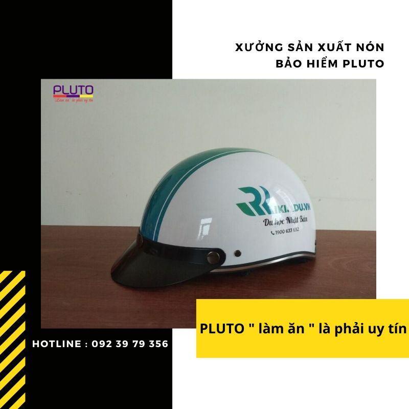 Mũ bảo hiểm quảng cáo in logo chất lượng