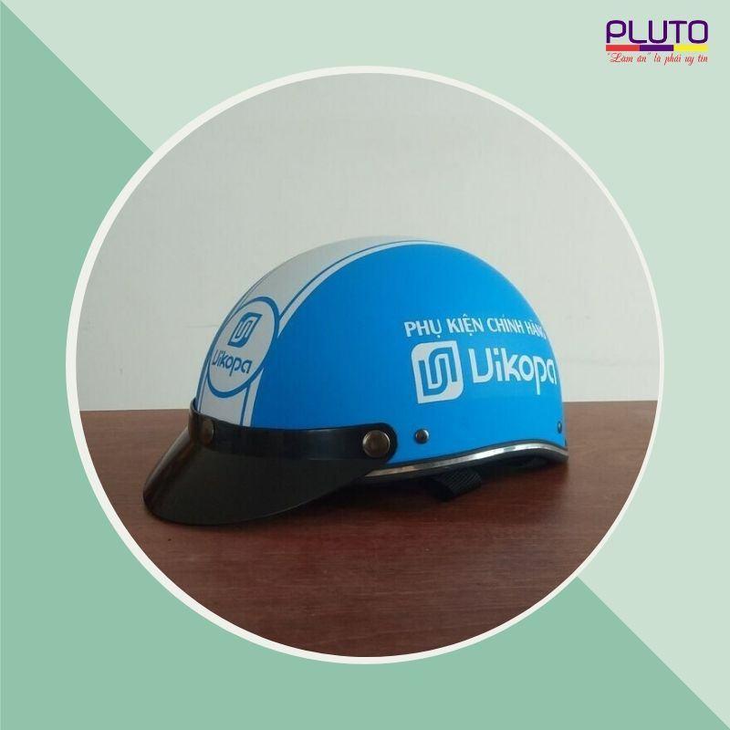 Làm mũ bảo hiểm theo yêu cầu chất lượng