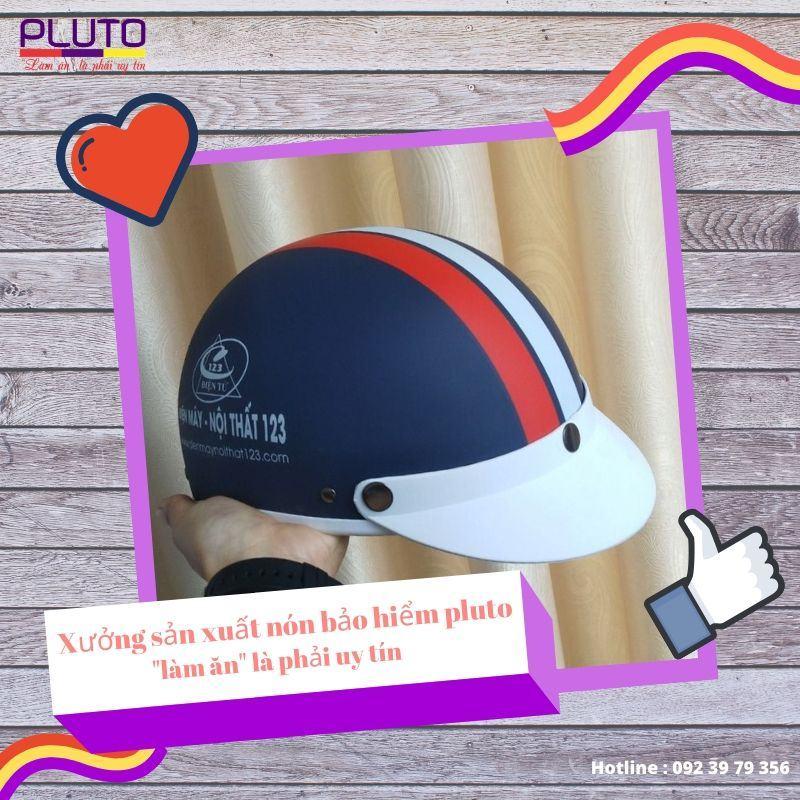 Xưởng sản xuất nón bảo hiểm quảng cáo uy tín chất lượng