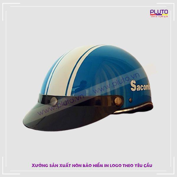 Đặt làm nón bảo hiểm quảng cáo