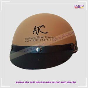 Mũ bảo hiểm 1/2 đầu - Công ty Nội thất ATC