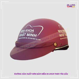 Mũ bảo hiểm quà tặng - Nha khoa Nhật Minh